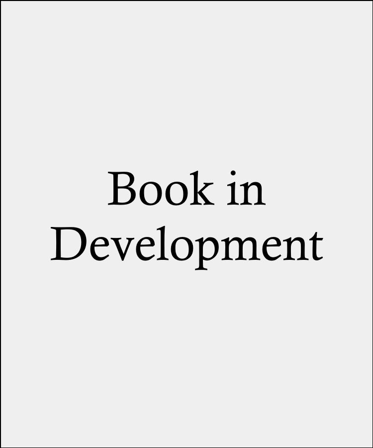 Placeholder cover image for a book currently in development