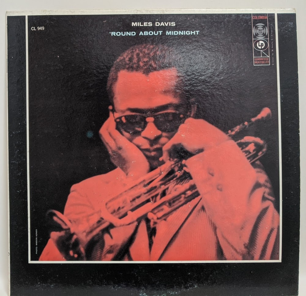 Album cover of Miles Davis - 'Round About Midnight (CL 949)